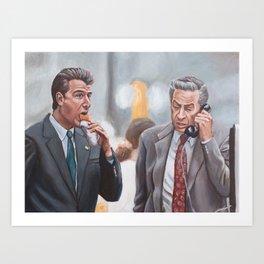Logan and Briscoe Art Print