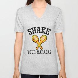 Shake Your Maracas Unisex V-Neck