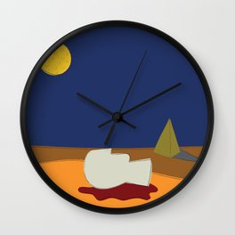 Tell it to the Moon Wall Clock