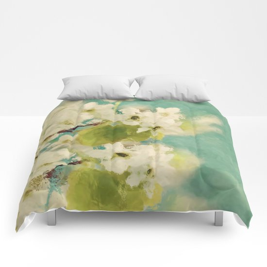 Dream of spring Comforters