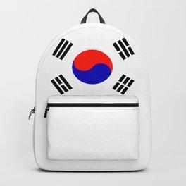 South Korean Flag Logo Backpack