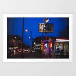 Staple of Logan Square Art Print