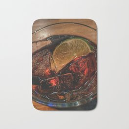 Rum and Coke Bath Mat
