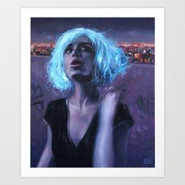 the magic wig Art Print