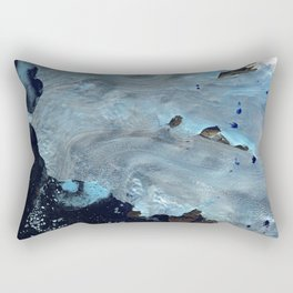 Our only state is flux Rectangular Pillow