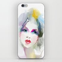 decorative iPhone & iPod Skins featuring 	decorative by tatiana-teni