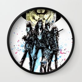 BLITZKRIEG BOP Wall Clock
