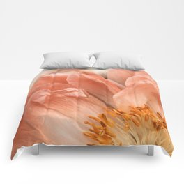 Coral Charm #1 Comforters