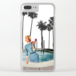 The perfect secretary Clear iPhone Case