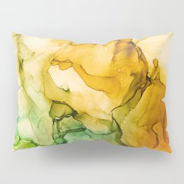 Turning Fall  - Abstract Ink Painting Pillow Sham