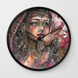 Goddess Lakshmi Wall Clock