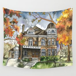 Victorian Autumn Wall Tapestry