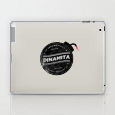 La próxima visita será con dinamita Laptop & iPad Skin