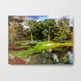 19th Hole Metal Print