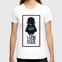 vader T-shirts featuring vader  by serbangabriel