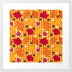 Autumn Print Art Print