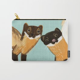 Yellow Martens Carry-All Pouch