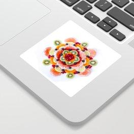 """What the Fruit"" Mandala Sticker"