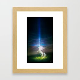 Lasers Framed Art Print