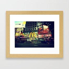 Times Square, New York City Framed Art Print