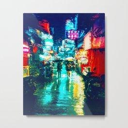 Night City Two Metal Print