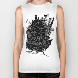 Howl's moving castle. Biker Tank