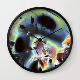"""""""Retro Moon Rising 2"""" Wall Clock"""