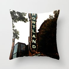 Portland Life Throw Pillow