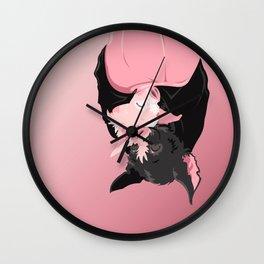 Lovebats Wall Clock
