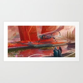 Blessed Envoy Art Print