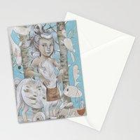 WINTER CENTAUR Stationery Cards