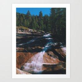 Almost a Creek Art Print