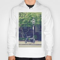 vespa Hoodies featuring Vespa by thirteesiks