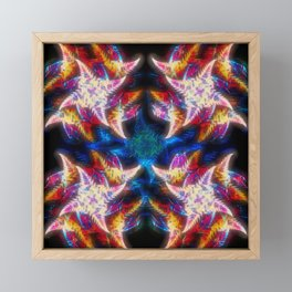 Ferny Fractals Framed Mini Art Print