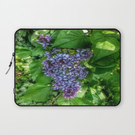 Lilacs in May Laptop Sleeve