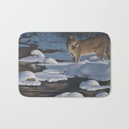 Interrupted Silence Bath Mat