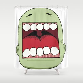 Loud Mouth Shower Curtain