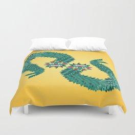 Quetzalcoalt Duvet Cover