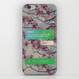 teleport dream - Paris iPhone Skin
