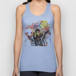 Fire Fly Poster Unisex Tank Top