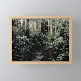Secret Path Framed Mini Art Print