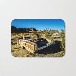 USA: abandoned town in Nevada Bath Mat