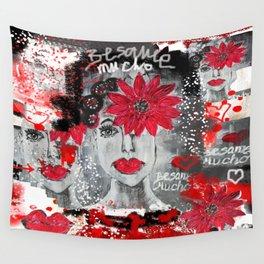 Besame muchooooooo Wall Tapestry