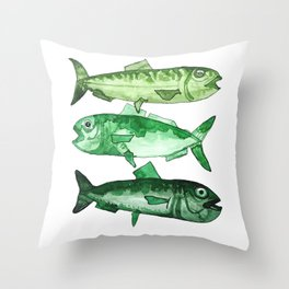 Sardinhas Throw Pillow