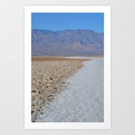 Badwater Basin 1 Art Print