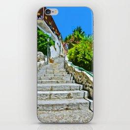 Steps of Capri iPhone Skin