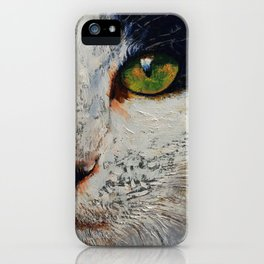 I Love You Cat iPhone Case