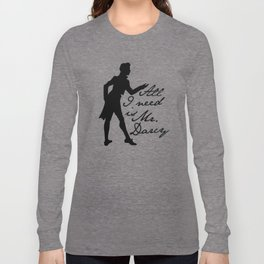 Mr. Darcy Long Sleeve T-shirt