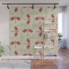 Spring flies 1b Wall Mural