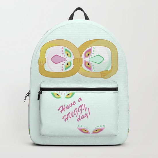 Have a huggy day Backpack